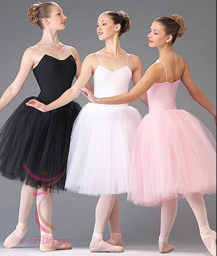 2020 Adult Romantic Ballet Tutu Rehearsal Practice Skirt ...