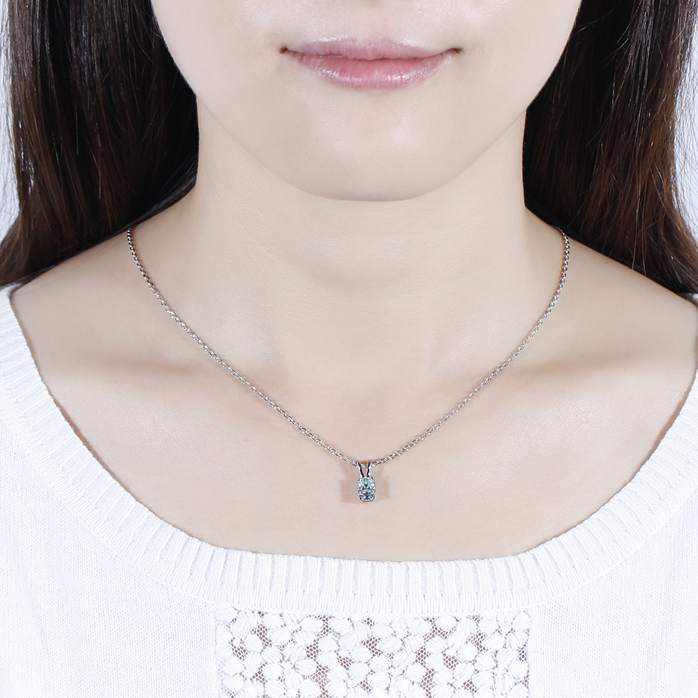 moissanite pendant necklace (5)