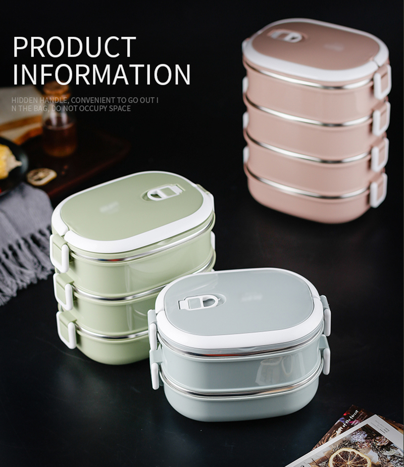 304 stainless steel insulated lunch box38