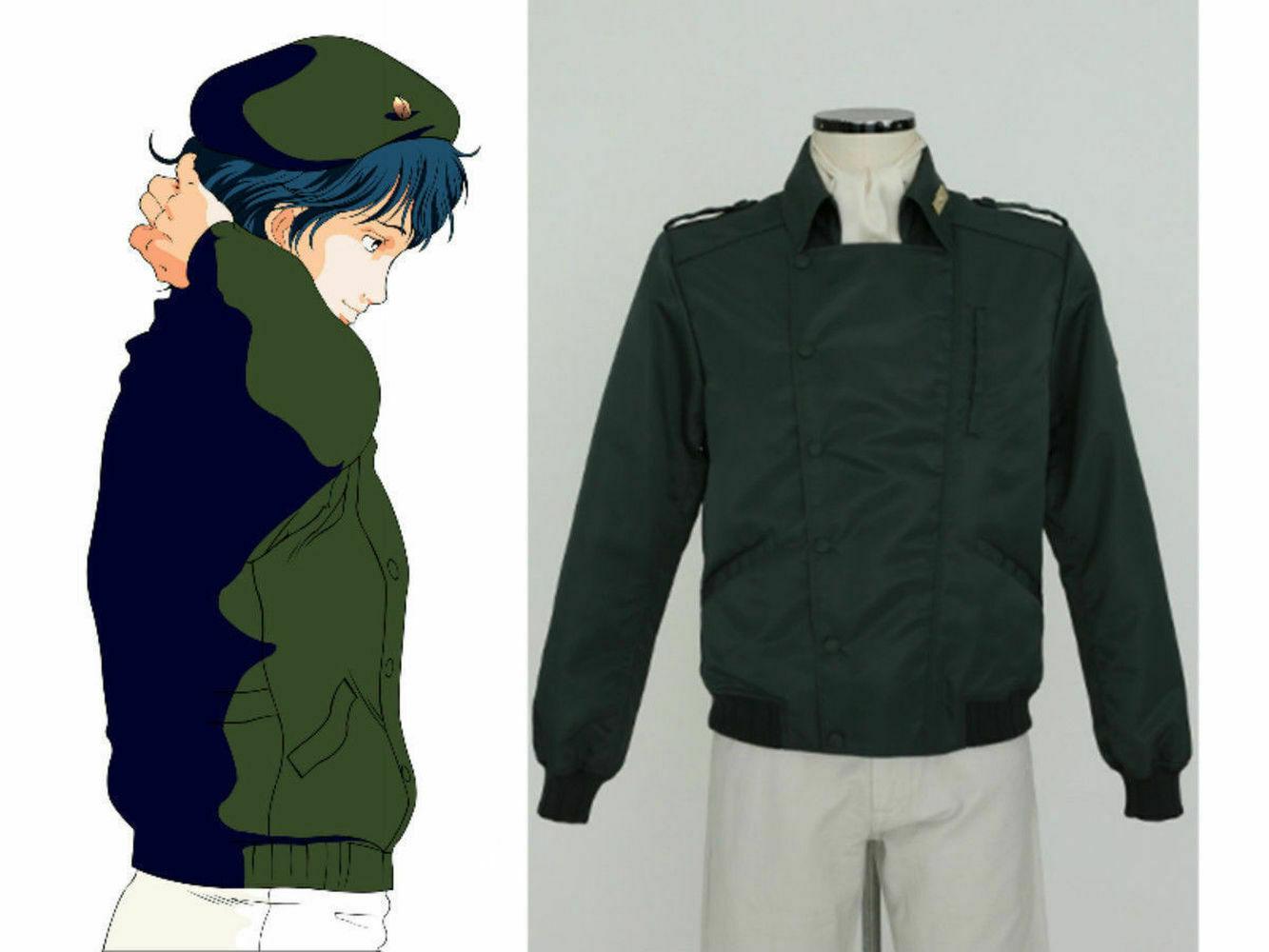 Legend of the Galactic Heroes Yang Wenli Coalition Military uniform Cosplay coat