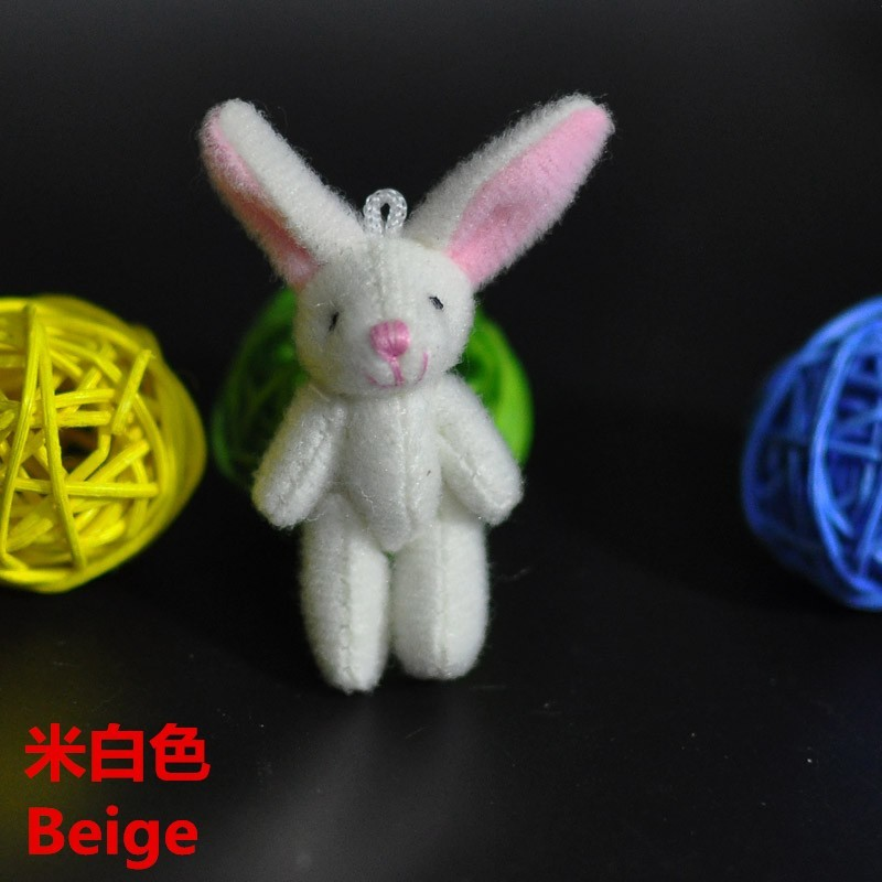 4.5CM Plush Rabbit Bunny 12