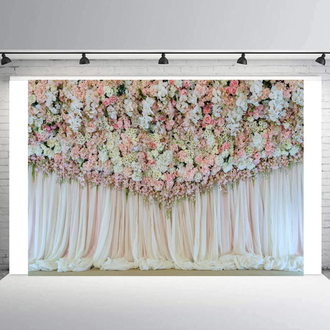 Sfondo di sfondo fotografia portatile stampa floreale portatile di moda Sfondo di fotografia di moda nuovo sfondo