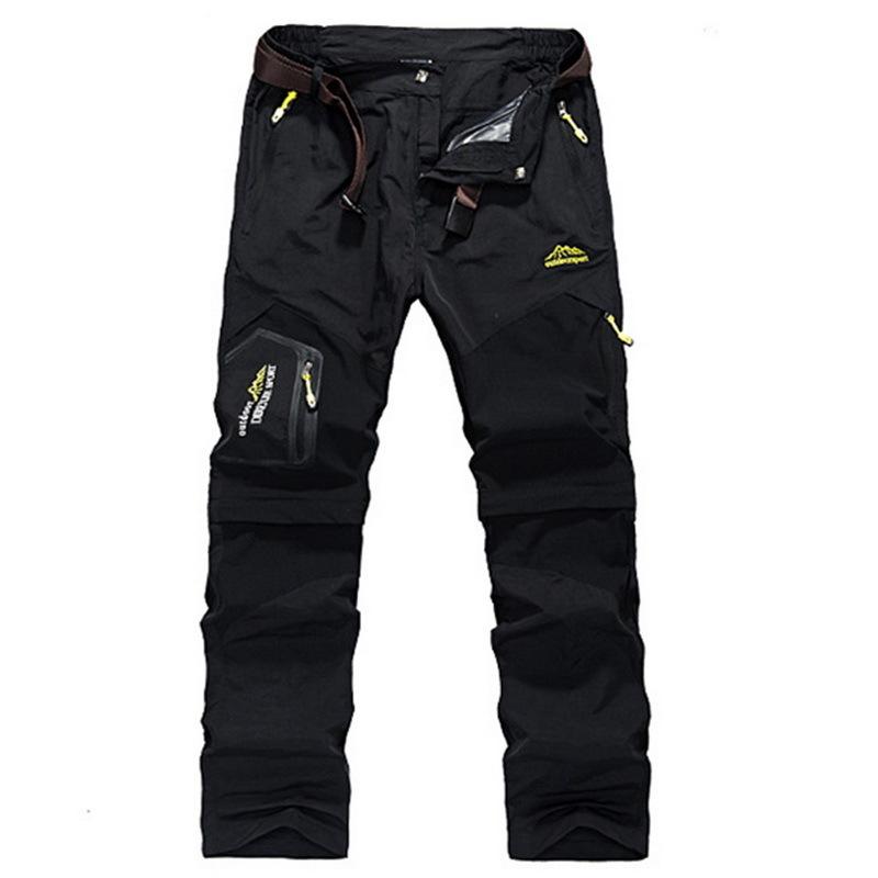 Calofe Brand Sportwear Men Fashion Pockets Patchwork Hip Hop Trousers Male Causal Waterproof Outwear Plus Size Pants C19040801