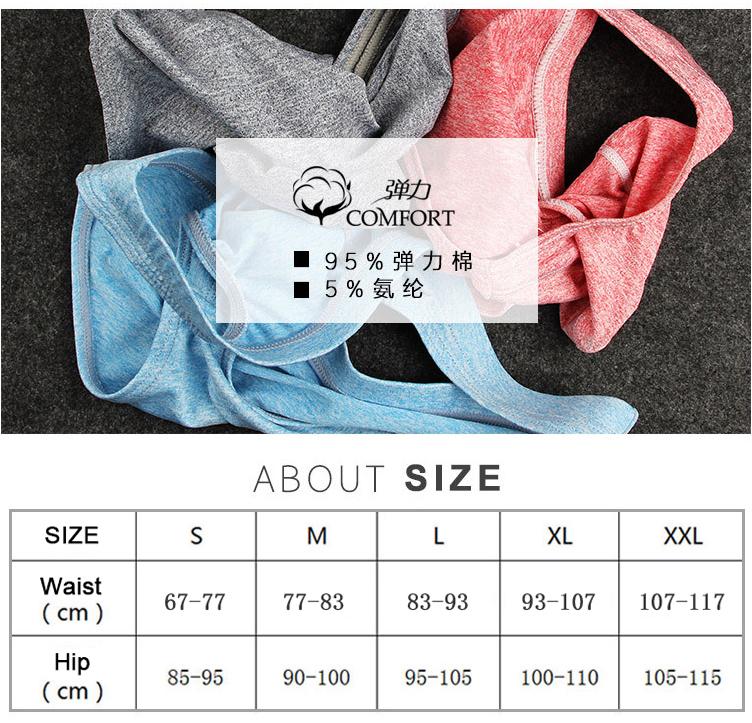New Designed Low Waist Gay Briefs Penis Pouch Sexy Mens Bikini Underwear Men C19042101