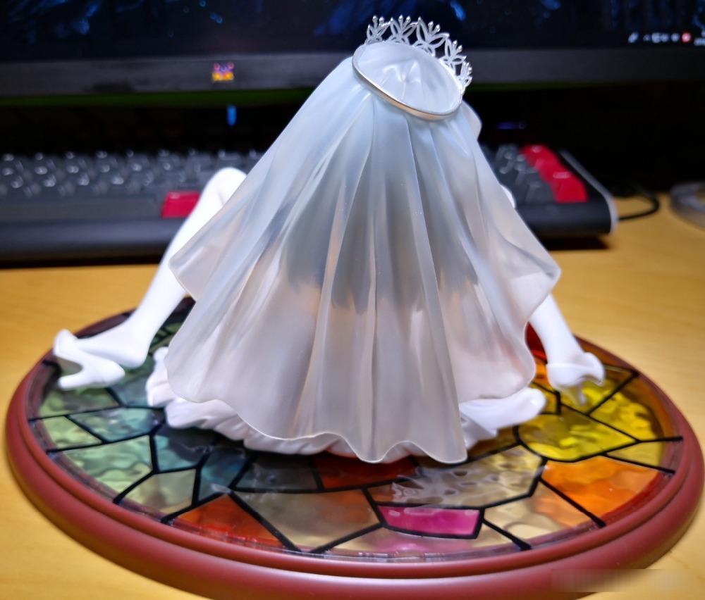 Ai Saeki Wedding Ver 1//6 Scale PVC Figure New Anime SKYTUBE fault !