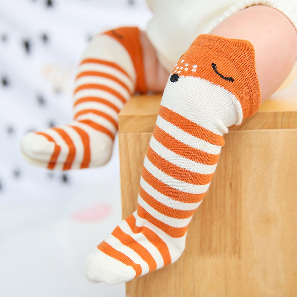 5 Pairs Baby Cotton Ankle Socks Dot Star Stripe Girl Boy Infant Kid Autumn 0-3Y