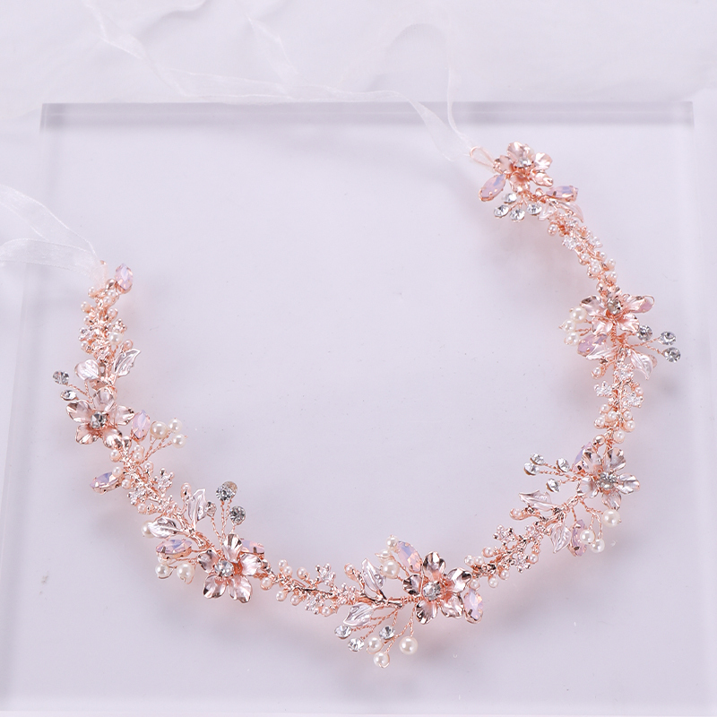 Rose Gold Hair Jewelry (1)