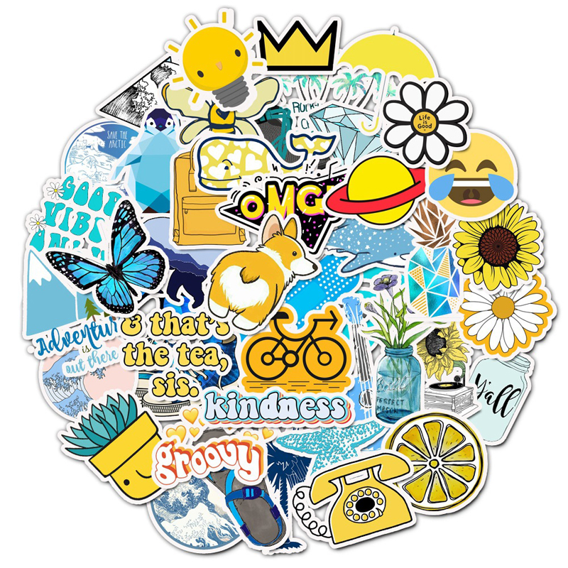 Momenta gracias Paquete de Pegatinas mejor 40 PC dimensionales Stickers New A10689