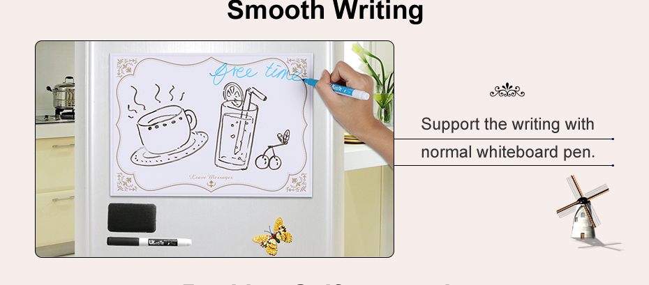 02 A4 Fridge Magnet Removable Erase Drawing Writing Planner Magnetic Board Fridge Message Board Magnets To Do List Memo Pad Notes
