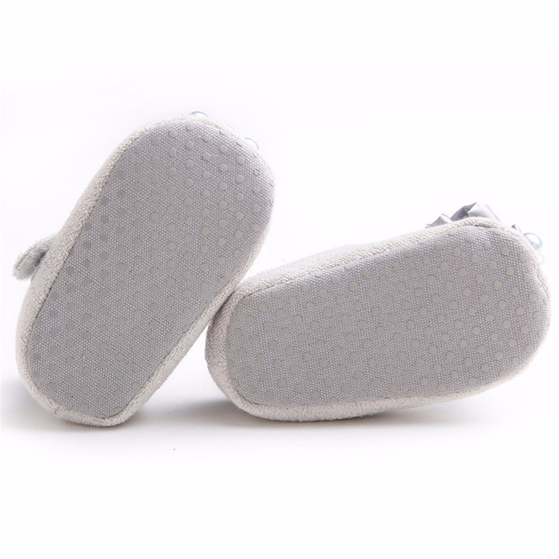 Baby Girls Shoes Fashion Newborn Infant Baby Girls Flower Pearl Soft Sole Anti-slip Princess Shoes Baby First Walker JE25#F (22)