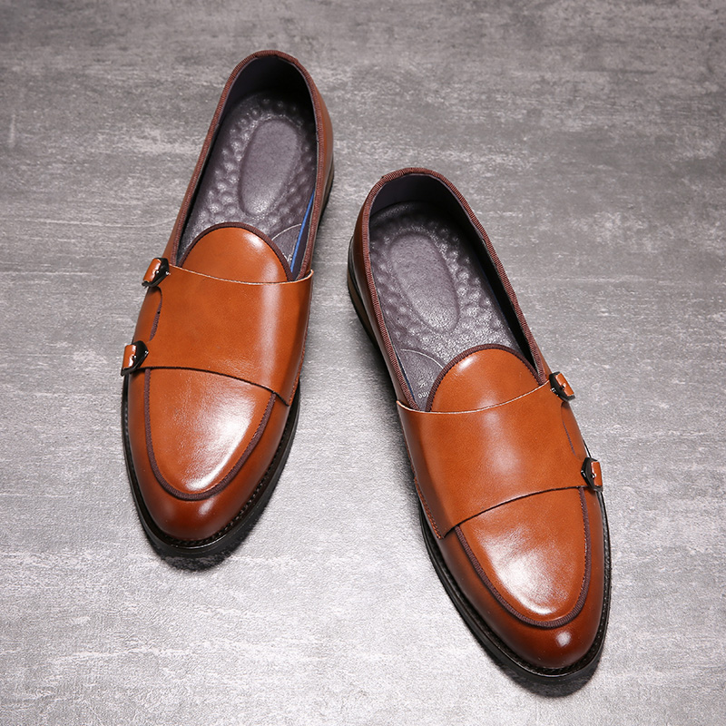 Men/'s Casual derbies chaussures en cuir Chaussures Confortable Formel Business Plates NOUVEAU N1