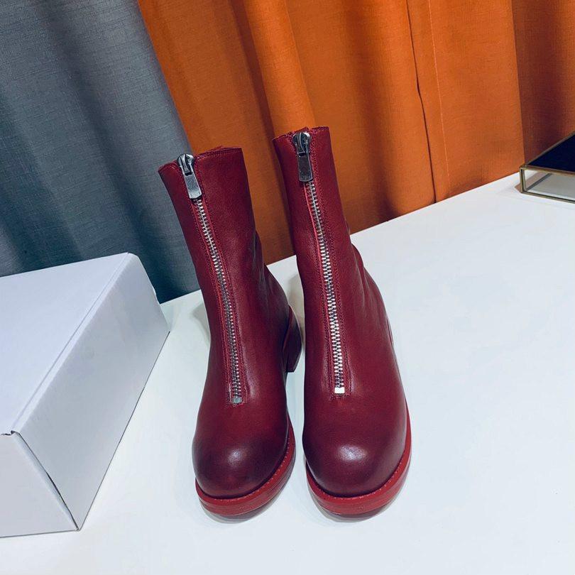 İyi Sonbahar Ve Kış Kadın Boots Moda Ve Nefis Yarım Çizme Özgün Tasarım Kar Boots
