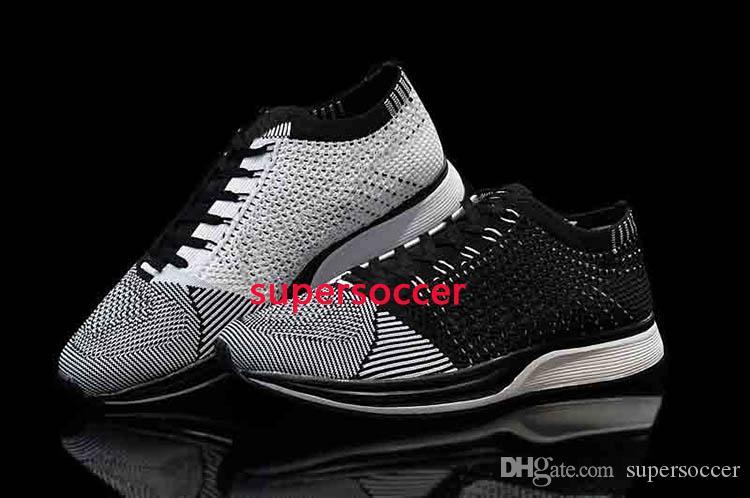 Wholesale Men Women Casual Racers Running Shoes Trainer Chukka Black Red Blue Grey Lightweight Breathable Walking Sneakers Sports Shoes
