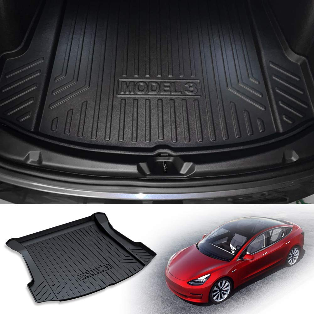 ZYHW Cargo Liner for 2018-2019 Toyota Camry,Automotive Floor Mat Rear Trunk Tray Protector for Dog