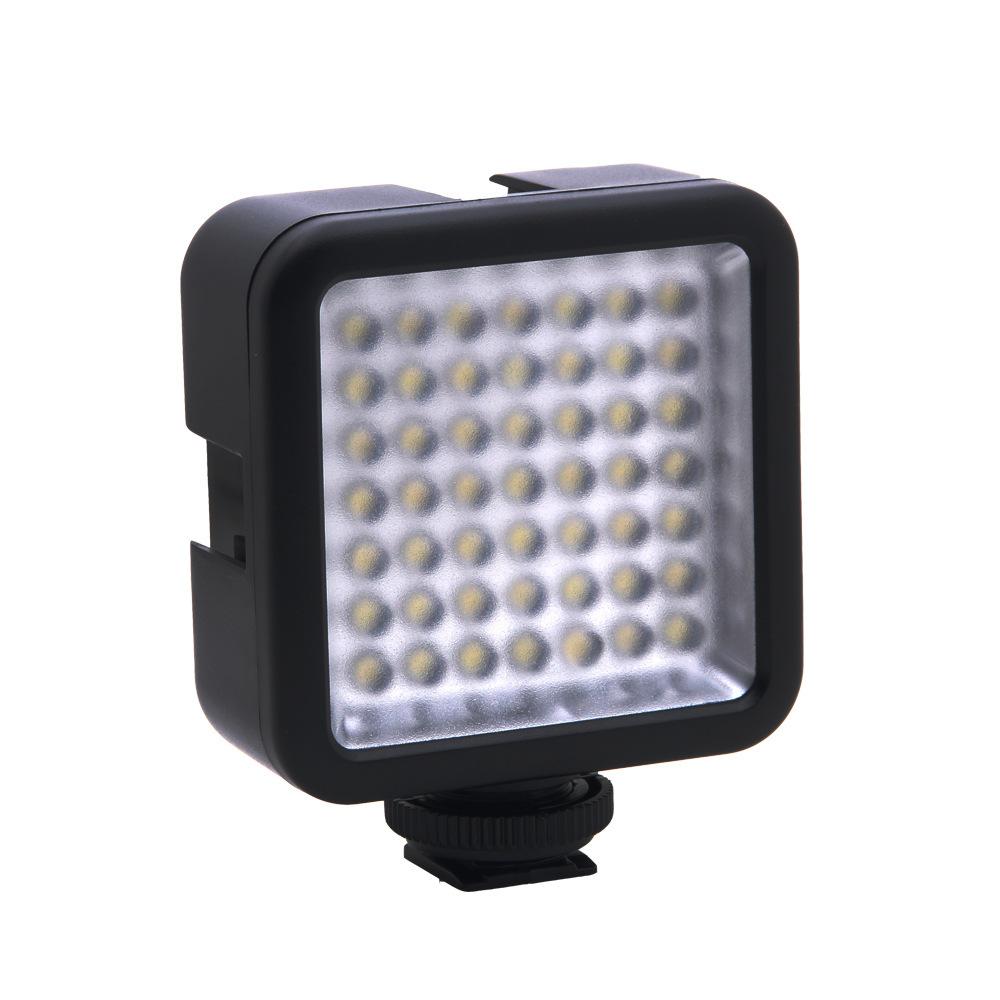 JingYing good quality W49 6000k mini led camera light for camera