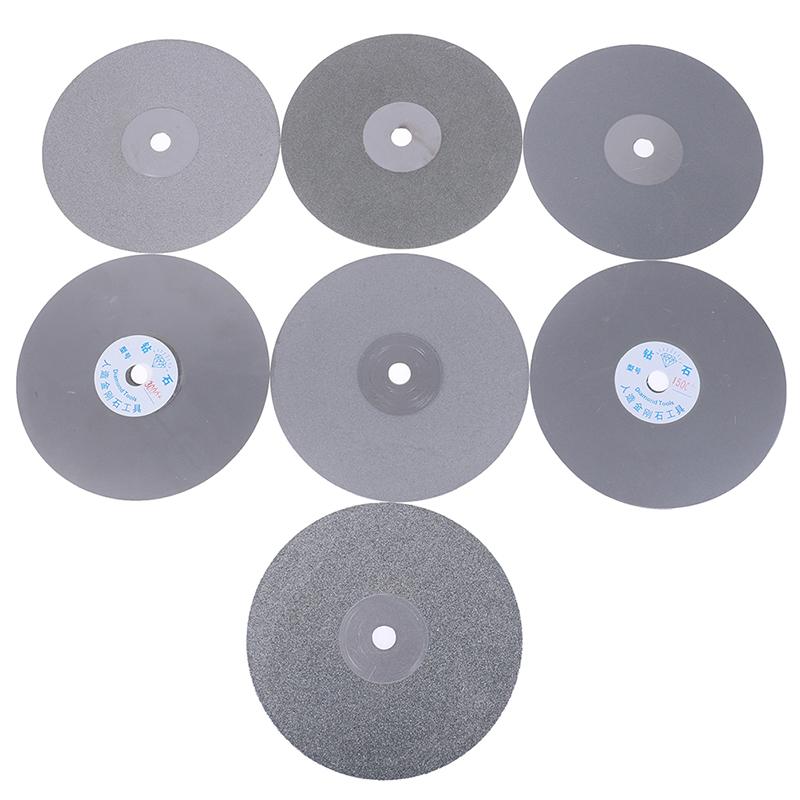 "US 8/"" INCH Grit 3000 THK Diamond Flat Lap wheel Jewelry grinding polishing disc"