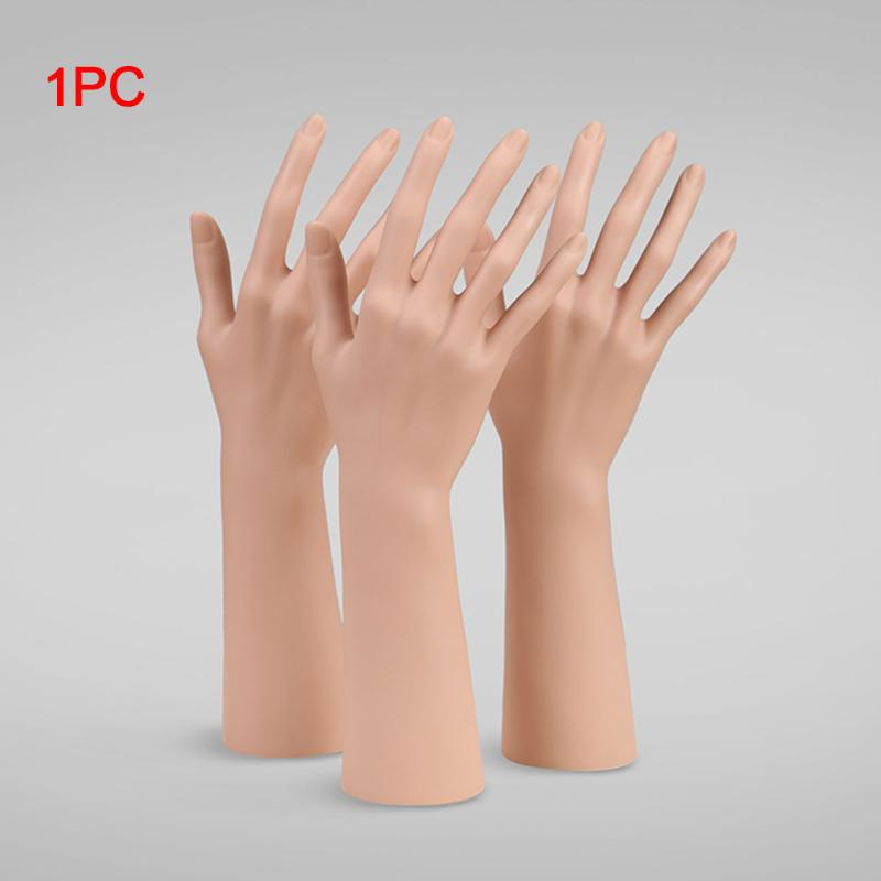 Freestanding Soft Realistic Male Mannequin Hand for Sports Gloves Display