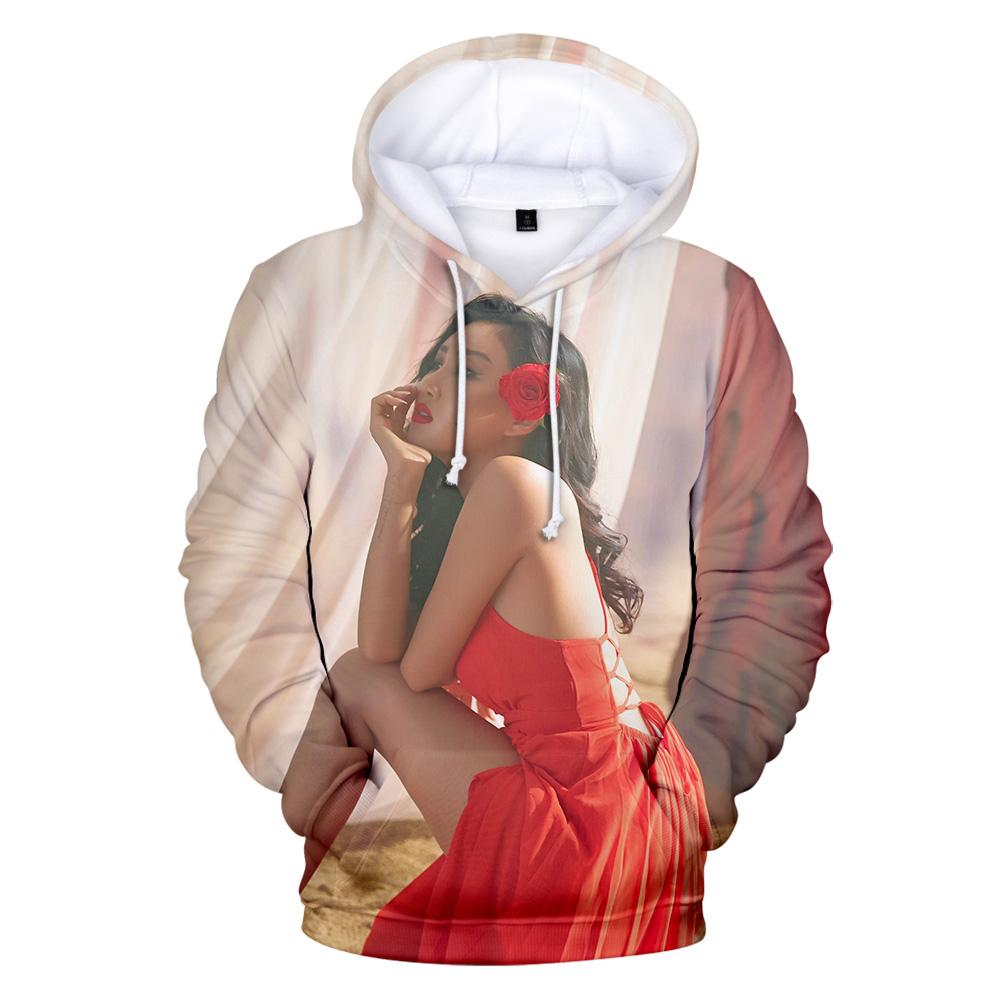 Summer Mens T-shirt 3//4 Sleeve Sweats Hooded Loose Korea Hot Sale Boys Fashion