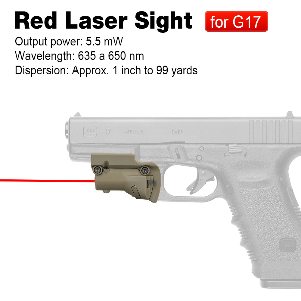 PPT Hunting Red Laser Sight Sports Laser for All Glocks For Outdoor Sport Hunting CL20-0019