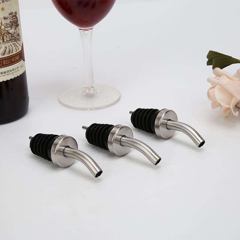 Weinzubehör 2 x Wein Flaschen Stopper Metall Weinverschluss