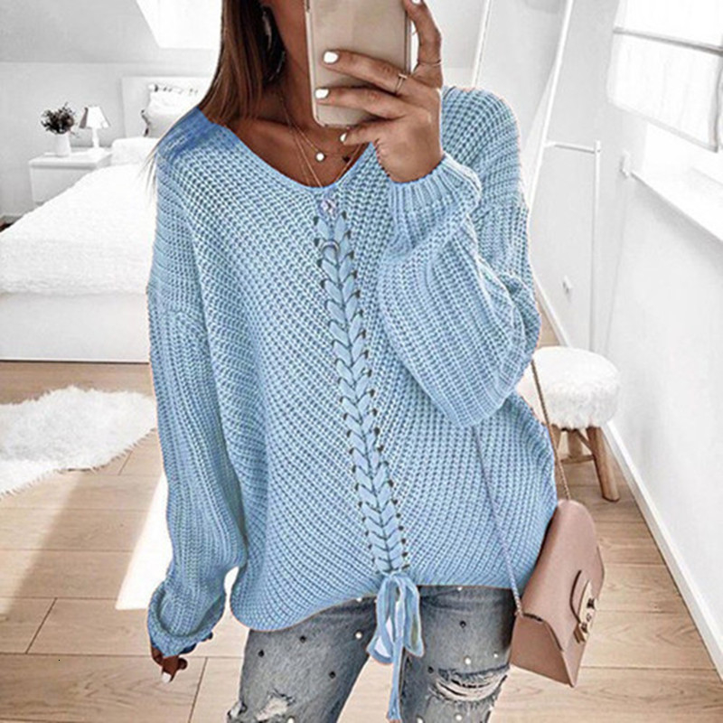 Plus size women pullover sweater spring autumn jumper women tops clothes casual loose fall knitted sweaters ladies 2019 DR897 (8)