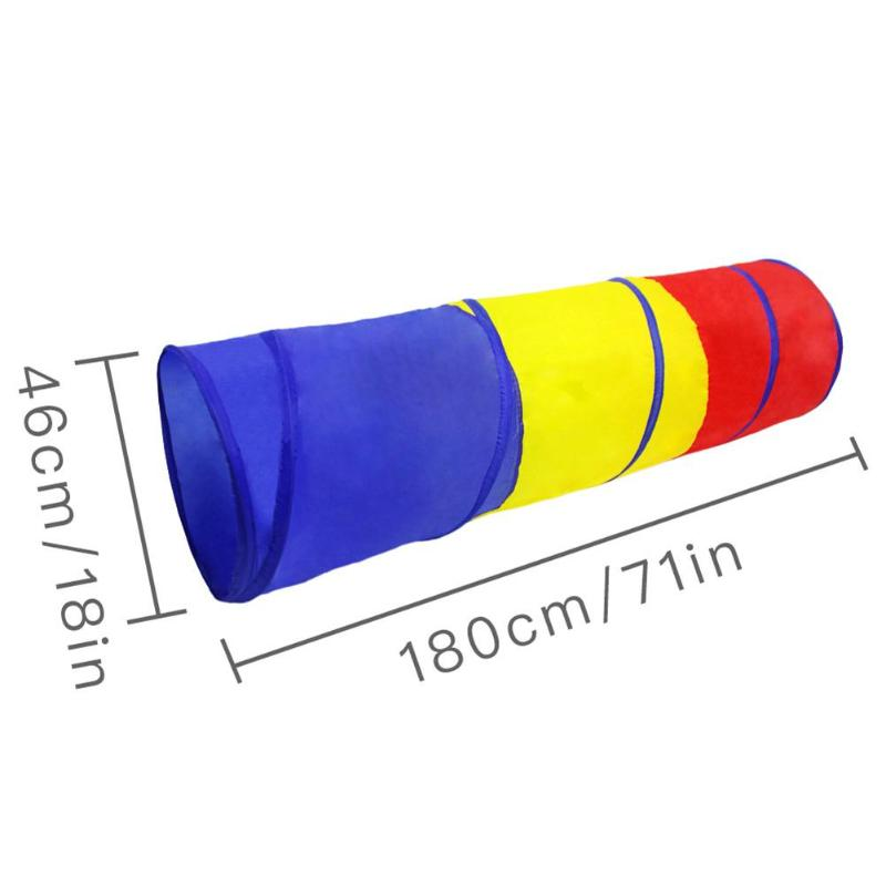 Tunnel Tents Indoor Kids Play House Tent Folding Crawling Tunnel Outdoor And Indoor Crawling Game Tent Toys For Children