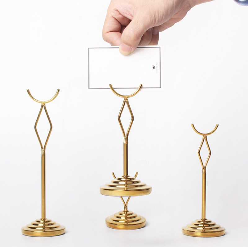 Table number stands 30cm ~ Sold Separately Or Bulk ~ Stainless Steel