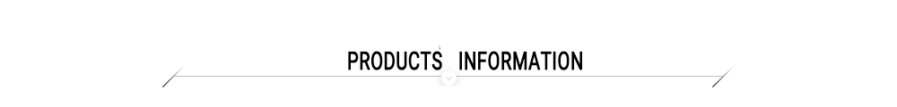 products infoemation
