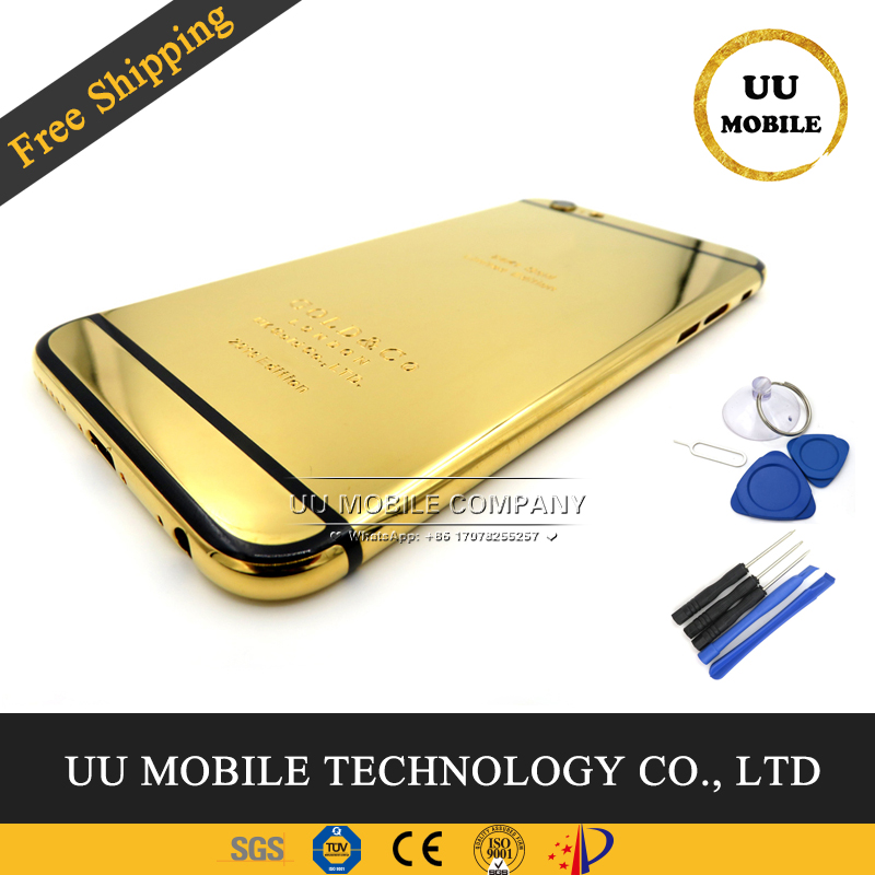 iPhone 6s 24K Gold Lion Cover Quality