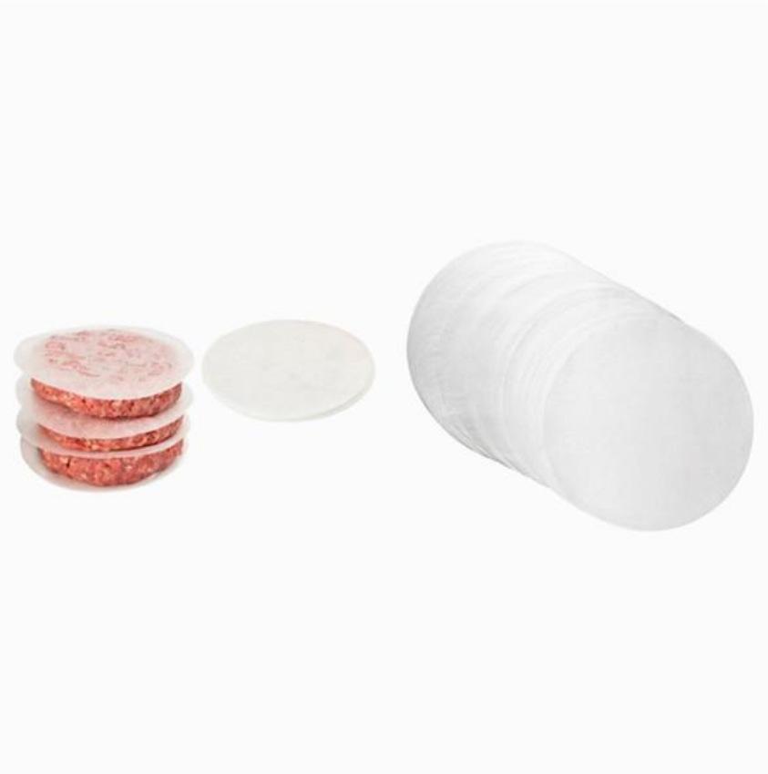 20 antiadhésif ronde caoutchouc silicone sulfurisé gâteau baking liners cercles