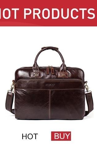 genuine leather bag men bag male (2)