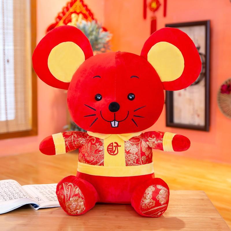 Plush toy stuffed doll cartoon animal nice mouse rat vacation holiday style 1pc