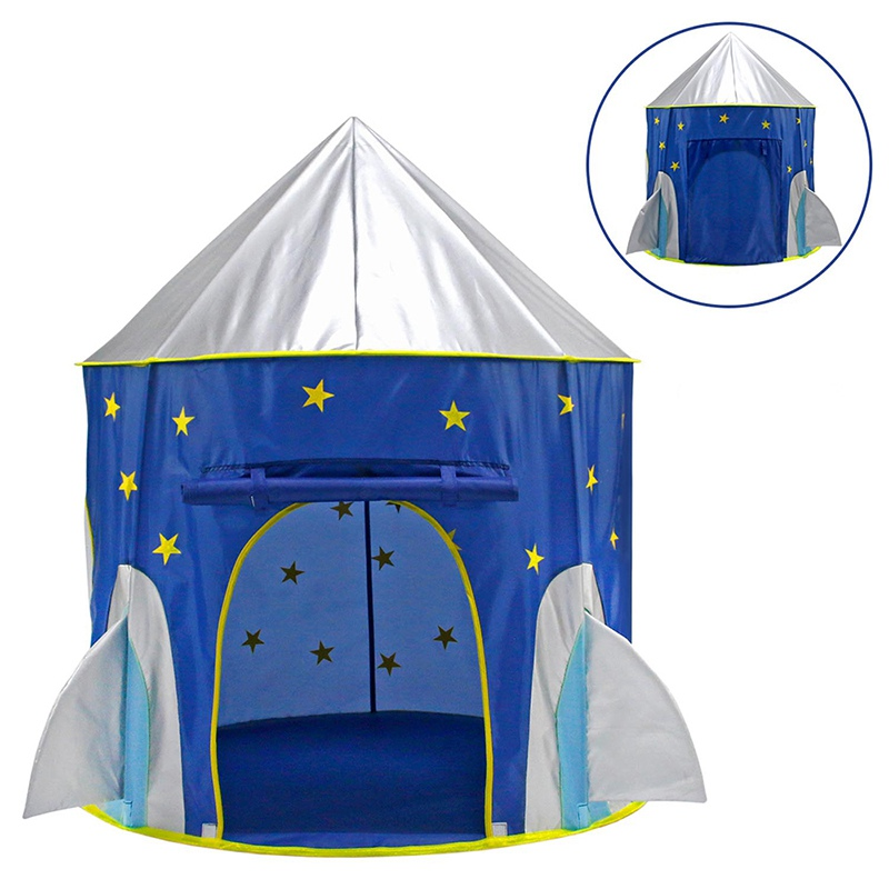 Portable Girls Baby Tent Playhouses for Kids Castle Play Tent House for Girls Folding Princess Prince Play Tent Toy Gift