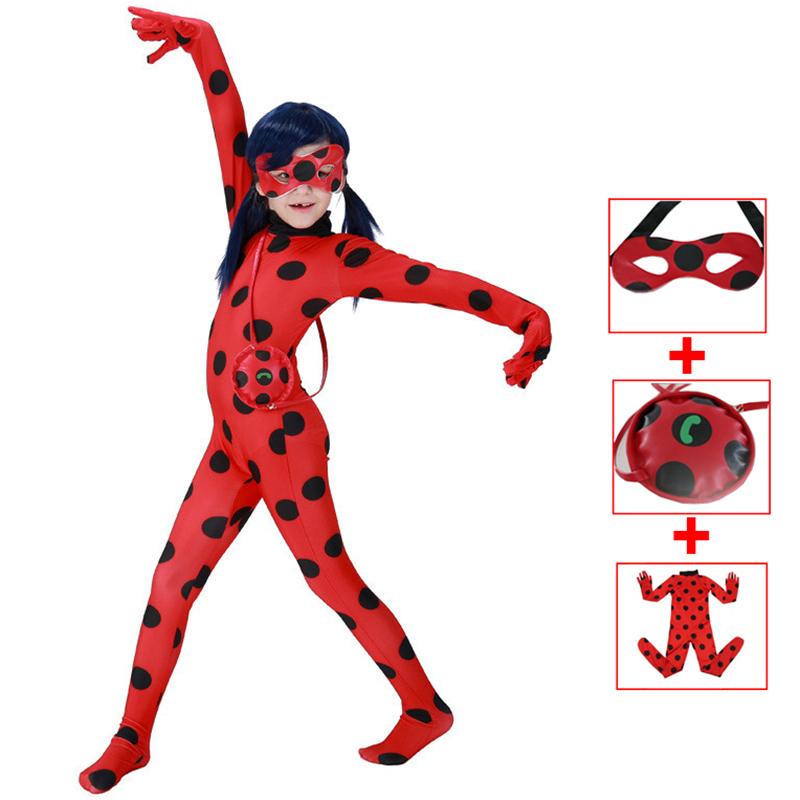 Le Ragazze Carino Coccinella Ladybug costume fantastico per Halloween Festa