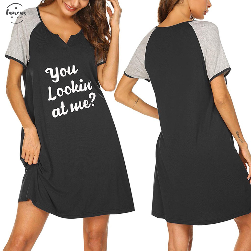 Hioinieiy Womens Tshirt Dress Nightshirt Nightgown Cover Up Plus Size Top Short Sleeve High Low Loose Soft