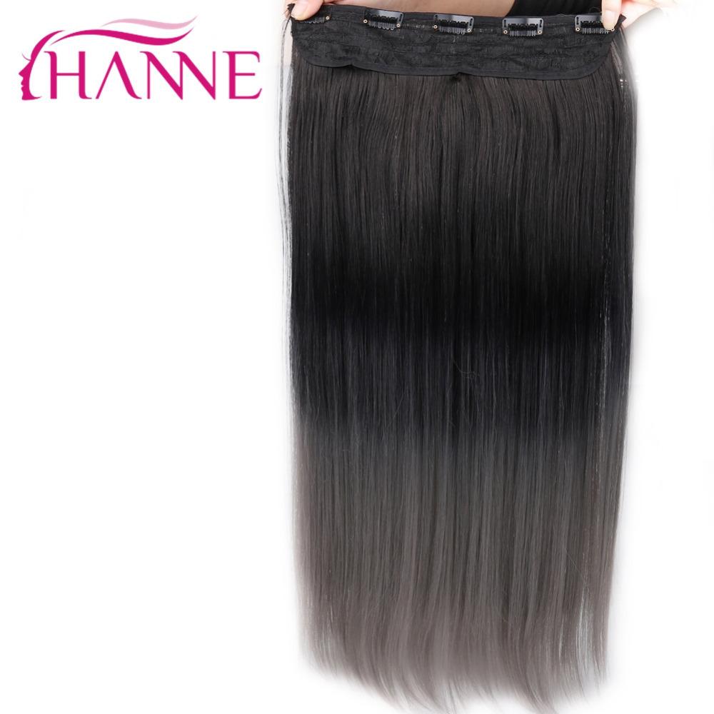 grey clip in hair straight07