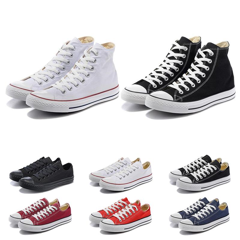 converse Pas cher Chuck Chaussures Toile Des Années 1970 Star Ox De Luxe Chaussures Casual Salut Reconstruit Slam Jam Noir Révéler Blanc Hommes Femmes
