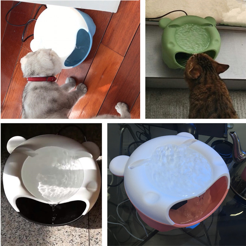 Automatic Pet Dog Cat Drinking Fountain Water Circulating Puppy Cat Feeding Bowl Kitten Dog Drinking Water Dispenser Pet Supply D19011506