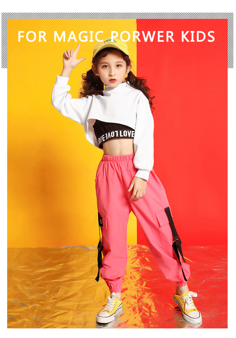 Girls boutique outfits 4 6 8 10 123 14 16 18 Years hip hop hoodies sweatshirts kids costumes girls kids summer clothes (2)