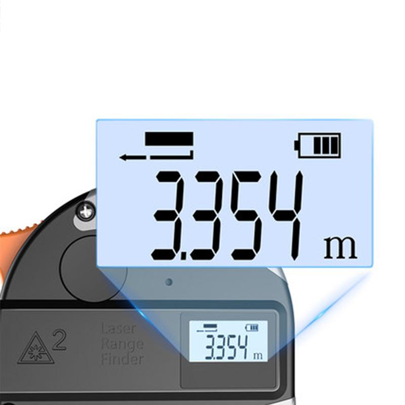 30m Telemetro Laser Anti-caduta Nastro di Acciaio Misurometro Digitale ad Infrarossi Ad alta precisione Distance Meter Misura Strumento Misura di Nastro T8190619