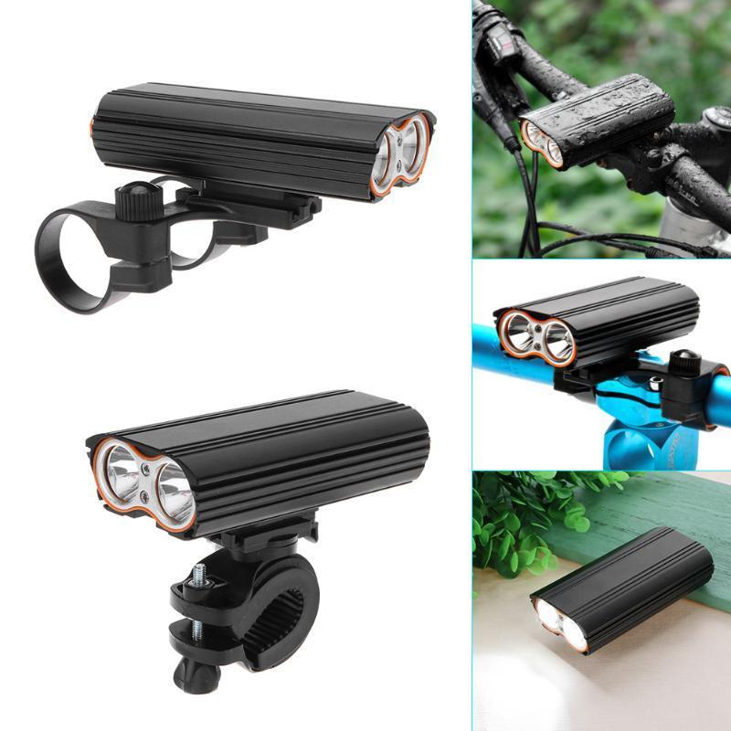 3 Mode Waterproof Led Mtb Bike Front Light Cycling Headlight Bicycle Rechargeable Flashlight Bicycle Accessories