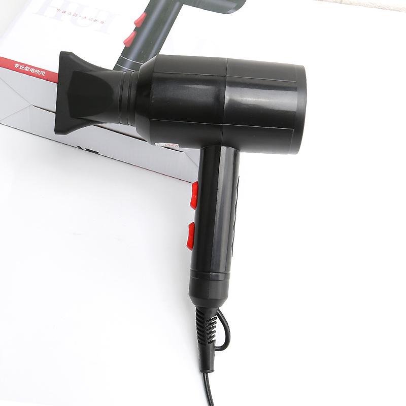 Vent fort Sèche-cheveux professionnel Salon Sèche Chaud Froid Vent négatif ionique Marteau Souffleur à sec électrique Sèche-cheveux
