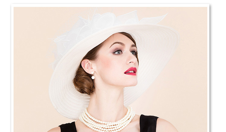 6 elegant hats for women