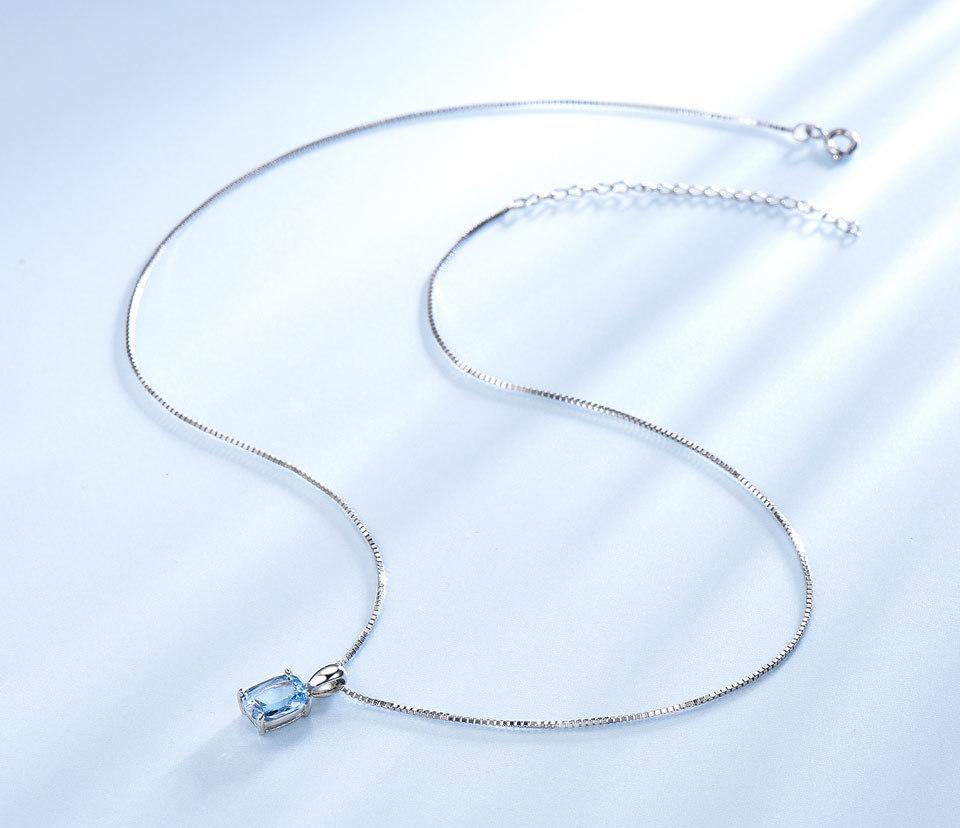 UMCHO Sky blue topaz silver sterling jewelry sets for women EUJ054B-1-pc (7)
