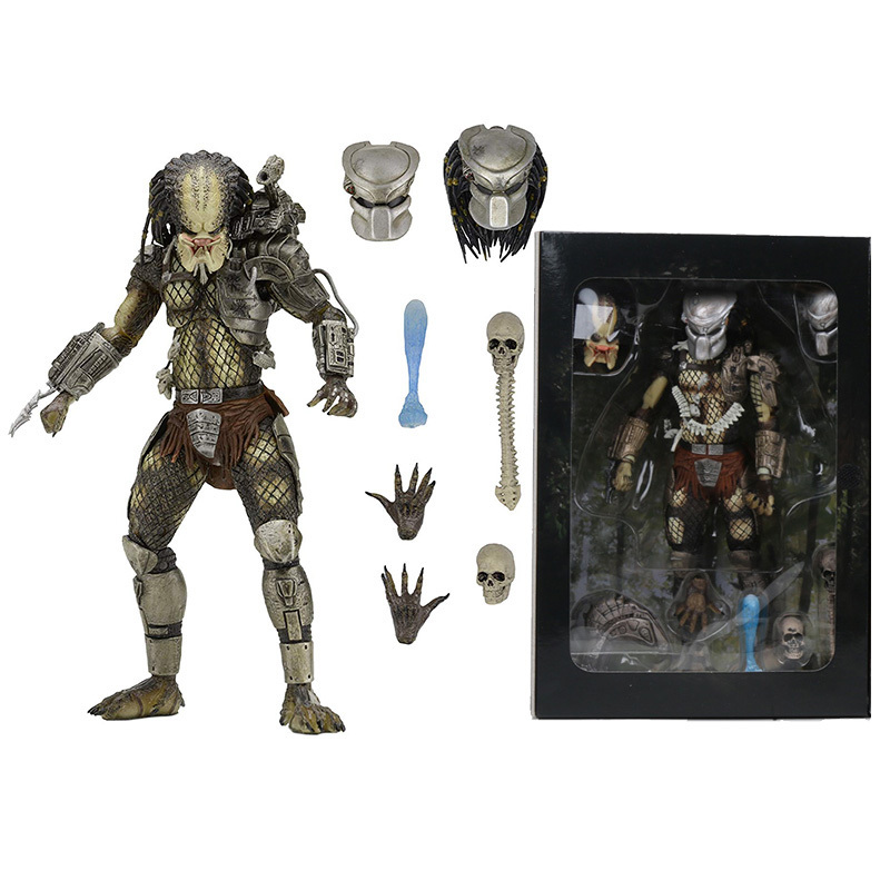 "NECA 8/"" Predator 2-Concrete Jungle Warrior Edition-Aliens AVP Figurine"