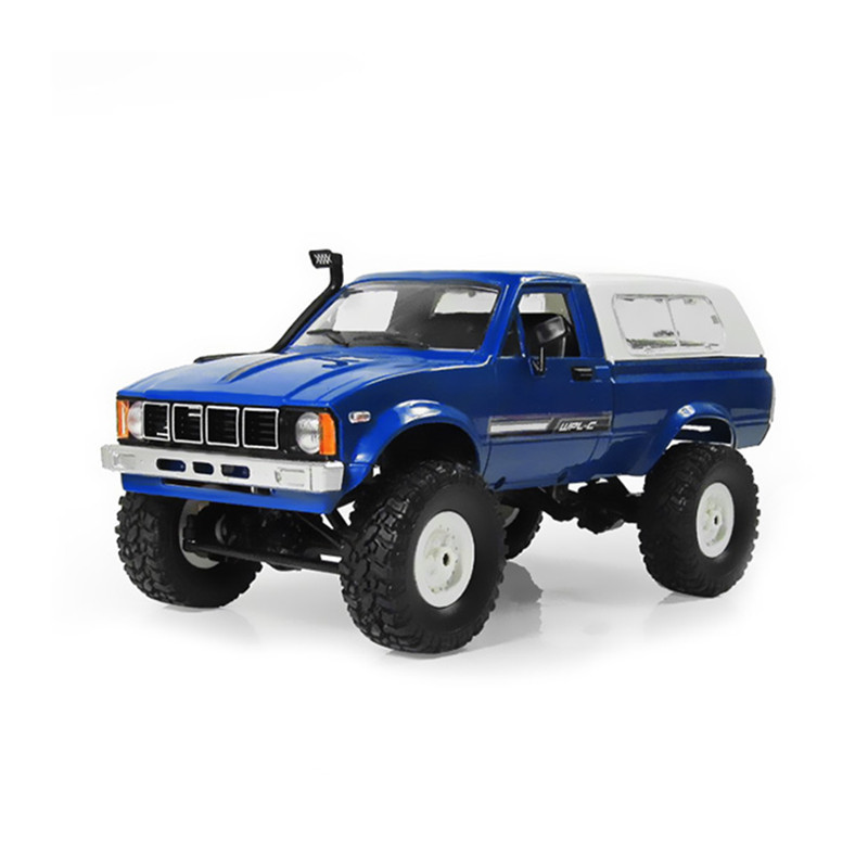 WPL C24 RC Car 1:16 4WD Radio Control Off-Road Mini Car RTR Rock Crawler Electric Buggy Moving Machine RC Cars Kids Play Cars
