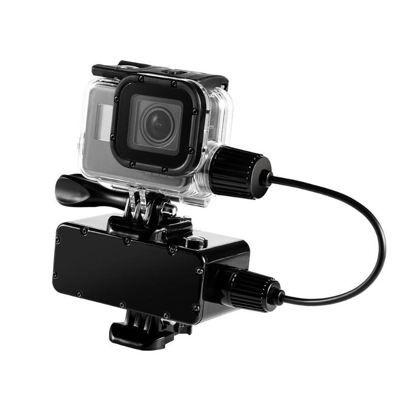 for Go Pro Camera Cover Accessories Chargering Waterproof Housing Case Charger shell With USB Cable for Gopro Hero 6 5