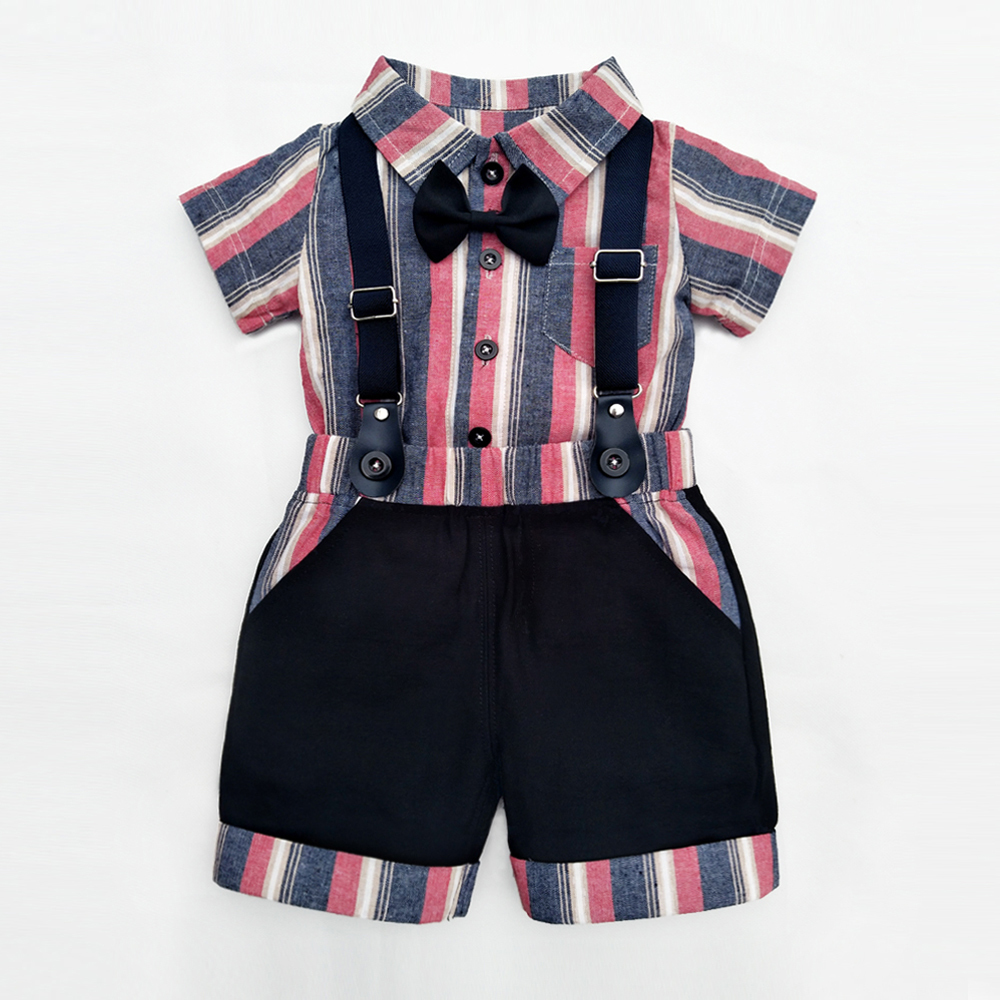 d08791f01 2019 Baby Boy Rompers Short Clothing Sets 2019 New Polo T Shirt + ...