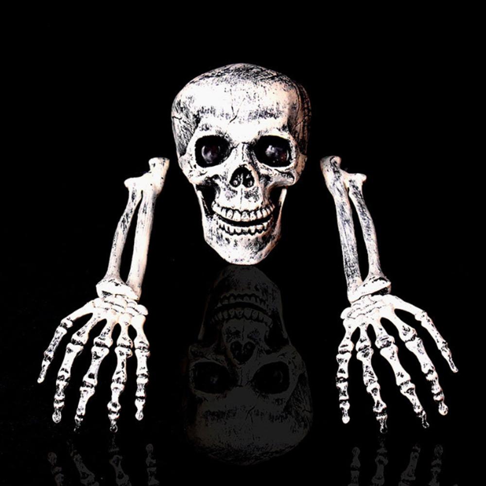 2019 Horror Skulls plastique Buried Alive décoration d'Halloween pour la maison Drop Shipping
