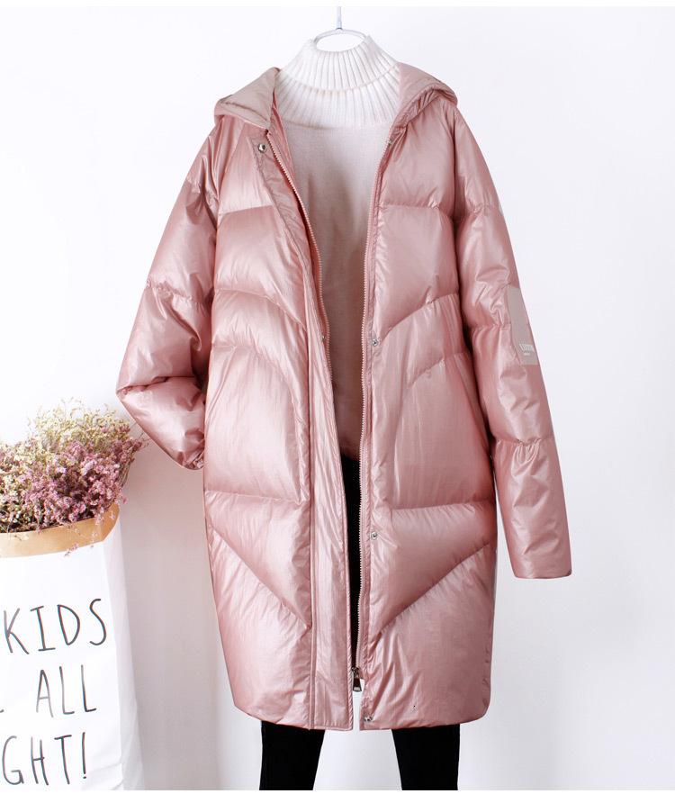 VANGULL Women Silver Zipper Short Warm Snow Sleeveless Down Vest Coat Overcoat Winter